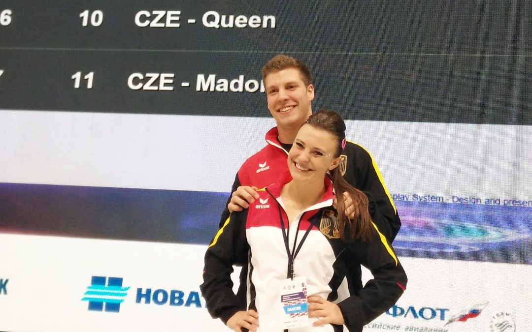 Gentner/Gartmeier bei World Masters in Moskau am Start